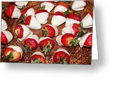 Candied Strawberries Greeting Card