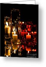 Candle Reflection Greeting Card