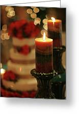 Candles And Cake Greeting Card