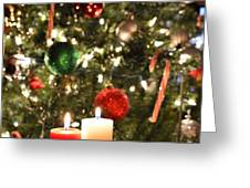 Candles For Christmas 5 Greeting Card