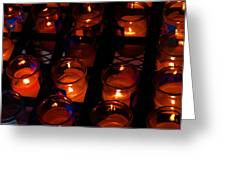 Candles For Mother Maria Greeting Card