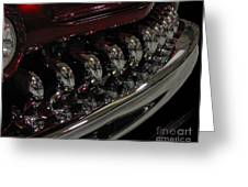 Candy Apple Bullets Greeting Card