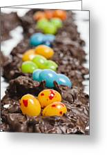 Candy Bird Nests  Greeting Card