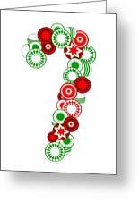 Candy Cane - Christmas Ornaments - Holiday Season Greeting Card