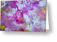 Candy Clouds Greeting Card by Tracy Bonin