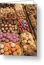 Candy Delights - La Bouqueria - Barcelona Spain Greeting Card