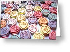 Candy Love Photography Greeting Card by Michael Tompsett
