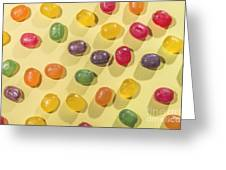 Candy Scattered Greeting Card