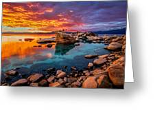 Candy Skies Greeting Card
