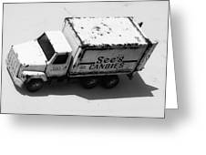 Candy Truck Greeting Card