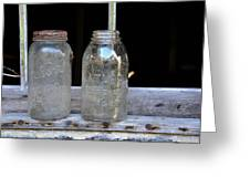 Canning Jars Greeting Card