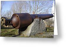 Cannon - York Maine Usa Greeting Card