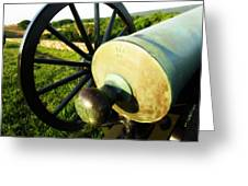 Cannon At Antietam Greeting Card