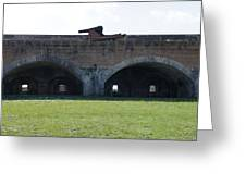 Cannon At Fort Pickens Greeting Card