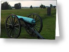 Cannon At Gettysburg 2 Greeting Card