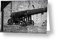 Cannon At Macroom Castle Ireland Greeting Card