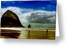 Cannon Beach At Dusk IIi Greeting Card