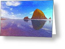 Cannon Beach Greeting Card