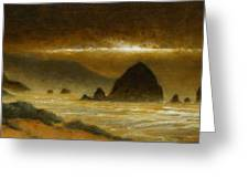 Cannon Beach Evening Greeting Card