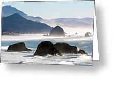 Cannon Beach On The Oregon Coast Greeting Card