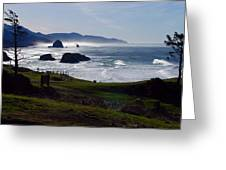 Cannon Beach Oregon Greeting Card