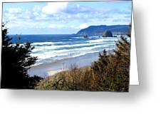 Cannon Beach Vista Greeting Card