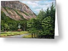 Cannon Cliff New Hampshire Greeting Card