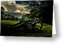 Cannon Encampment Valley Forge Greeting Card
