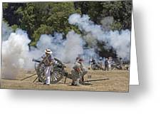 Cannon Fire 1 Greeting Card