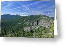 Cannon Mountain - White Mountains New Hampshire Usa Greeting Card