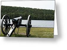 Cannon Protection Greeting Card