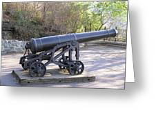 Cannon Greeting Card by Richard Mitchell