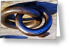 Cannon Rings Greeting Card