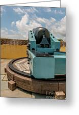 Cannon Track System Greeting Card