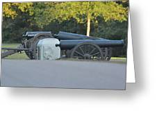 Cannons At Shiloh Greeting Card