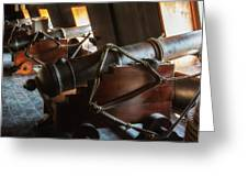 Cannons Below Greeting Card
