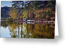 Canoe Lake Greeting Card