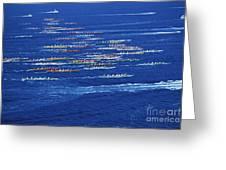 Canoe Race Greeting Card