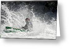 Canoeists -river Runners 2012 Greeting Card
