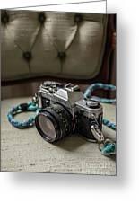 Canon Ae-1 Film Camera Greeting Card