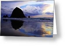Cannon Beach Nature's Symphony Greeting Card