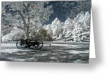 Canon In Petersburg National Battlefield Greeting Card