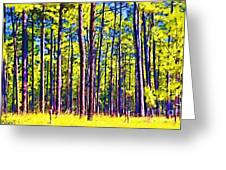 Can't See The Forest Greeting Card