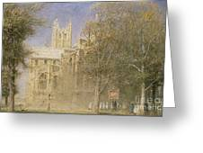 Canterbury Cathedral Greeting Card