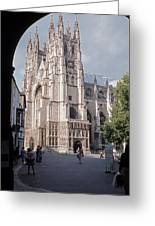 Canterbury Cathedral England Greeting Card