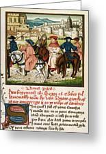 Canterbury Pilgrims Greeting Card