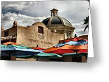 Cantina De San Angel Greeting Card