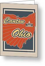 Canton Ohio Greeting Card
