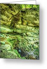 Cantwell Cliffs 2 Hocking Hills Greeting Card
