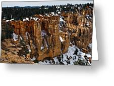 Canyon Alcoves Greeting Card